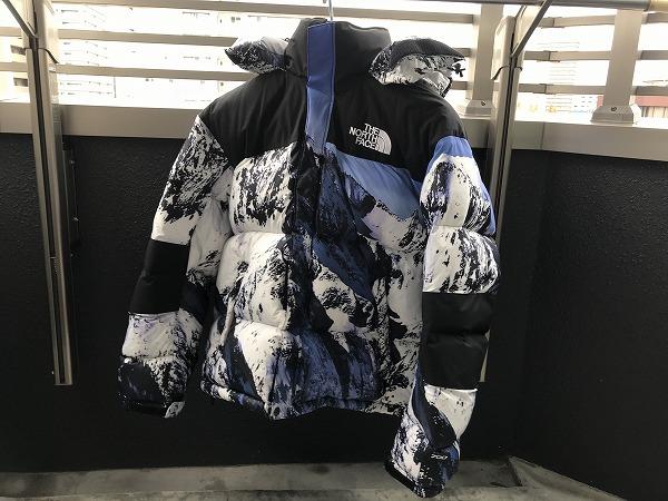 【雪山のサイズ感/コーデ集】バルトロ Supreme×The North Face