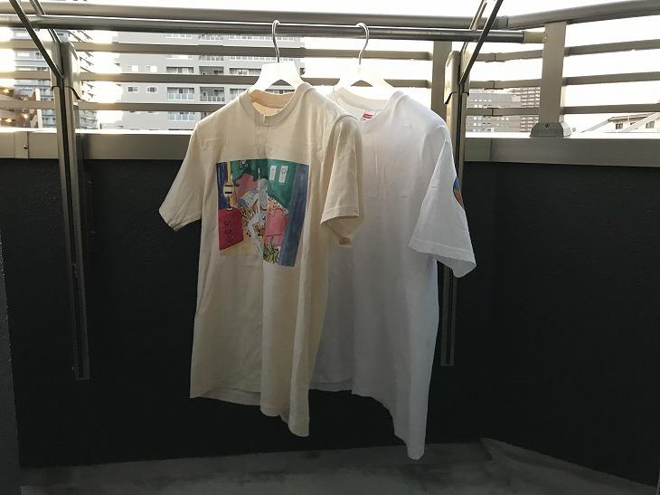 【Supreme】Tシャツのサイズ感を徹底解説します【サイズ表/着画】