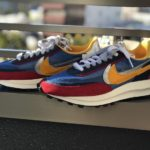 【購入レビュー/サイズ感】Nike×Sacai LDVワッフル「Blue×Multi」