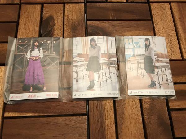 【開封レビュー】乃木坂46 個別生写真「Sing Out!と4番目の光を購入してみた」レビュー