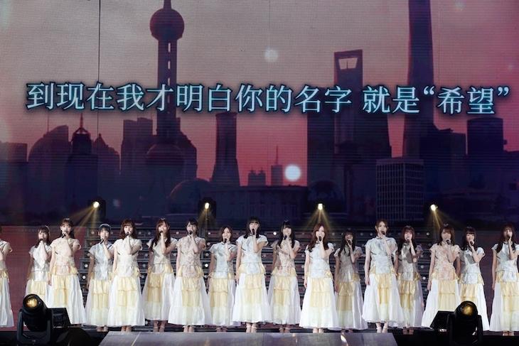 【上海セトリ】乃木坂46「Live in Shanghai 2019のセットリスト」上海メルセデス・ベンツアリーナ