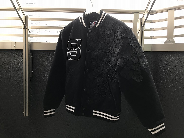 【購入レビュー】Supreme/New Era/MLB Varsity Jacket サイズ感