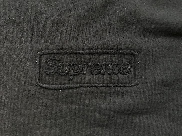 【購入レビュー】Supreme カットアウトロゴ クルーネック 2020SS