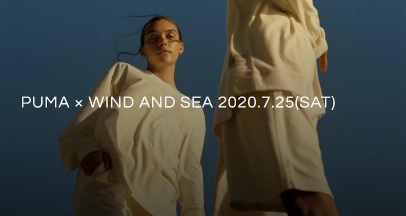 WIND AND SEA(ウィンダンシー)×PUMA 2020年7月25日 発売アイテム一覧